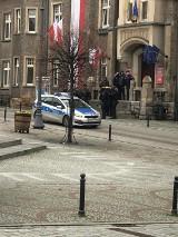 Ochrona policji dla prezydenta Szełemeja. Ściągnięto posiłki z Wrocławia