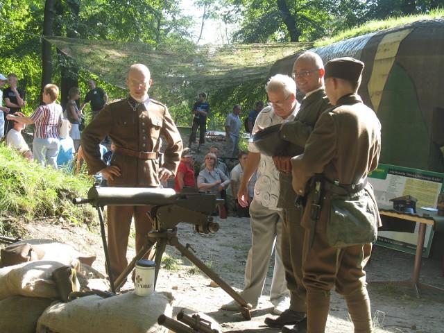 Schron bojowy i piknik cieszyły się ogromnym zainteresowaniem