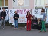 Kraków. Protest przeciwko budowie Trasy Łagiewnickiej i dalszemu betonowaniu miasta [ZDJĘCIA]