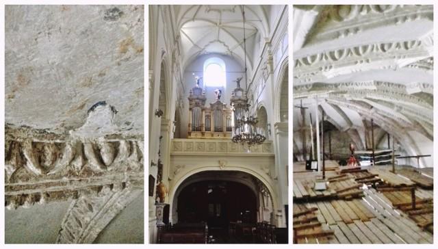 W kościół pobernardyńskim pw. Nawrócenia św. Pawła w Lublinie trwają prace badawcze. Lada moment ruszą prace konserwatorskie przy sklepieniu