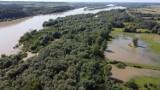 Mieszkańcy Janowca z niepokojem patrzą na rosnący poziom wody w Wiśle