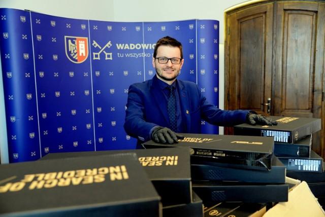Bartosz Kaliński, burmistrz Wadowic