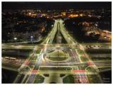 Niesamowite zdjęcia ronda Kujawskiego w Bydgoszczy z lotu ptaka. Tak wyglądają okolice ul. Kujawskiej po remoncie [zdjęcia]