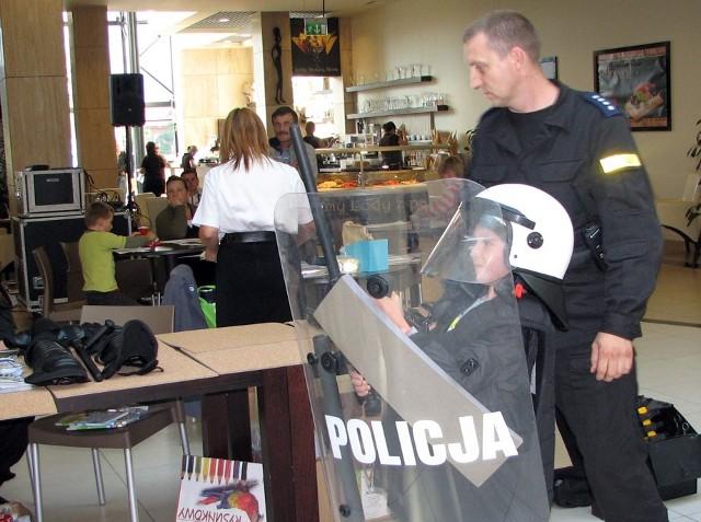 8-letni Franek Siedlarczyk z Chorzowa miał okazję choć na chwilę poczuć się jak policjant