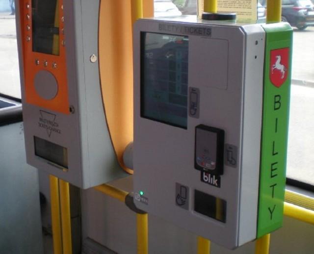 Nowe biletomaty pojawią się we wszystkich autobusach MZK Konin