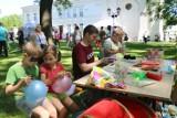 """Chełm. Gry, konkursy, pokazy oraz  mnóstwo świetnej zabawy  podczas pikniku rodzinnego """"Szczęśliwa Rodzina"""". Zobacz zdjęcia"""