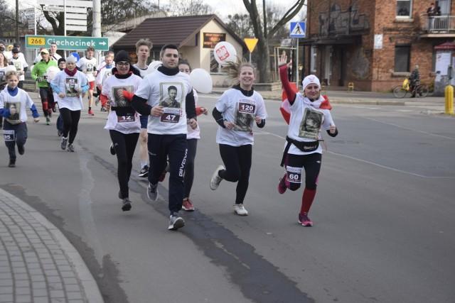 W Biegu Tropem Wilczym wzięło udział ok. 200 uczestników z Aleksandrowa Kujawskiego i okolic.