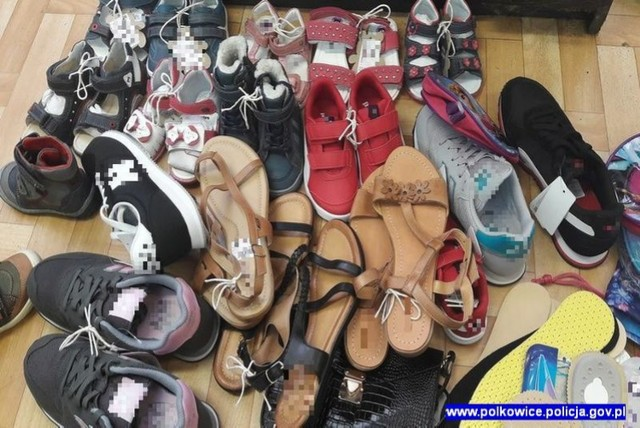Damskie i dziecięce obuwie, chociaż kradzione, przynosiło zyski