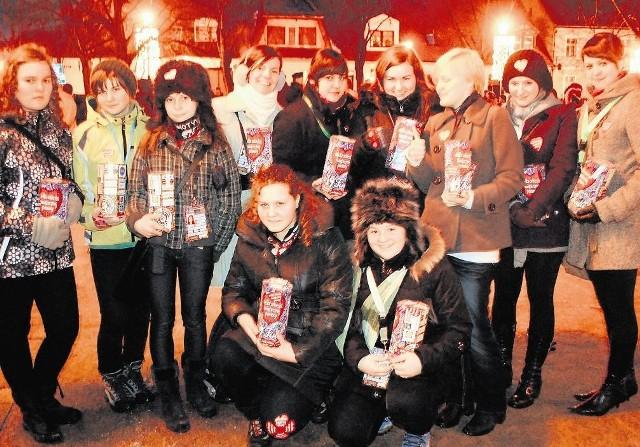Na wolsztyńskich ulicach już od rana kwestowały dziesiątki wolontariuszy