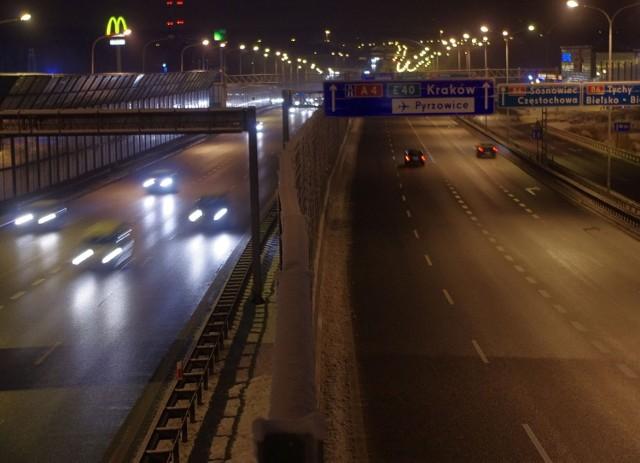 Autostrada A4 przy CH 3 Stawy