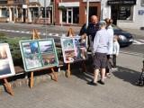 Uliczkami Goleniowa - na zdjęciach. Plenerowa wystawa przed biblioteką