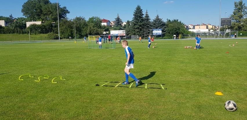 Gostyń. W MKS Kania Gostyń trenowali zawodnicy w kategorii Żak [ZDJĘCIA]