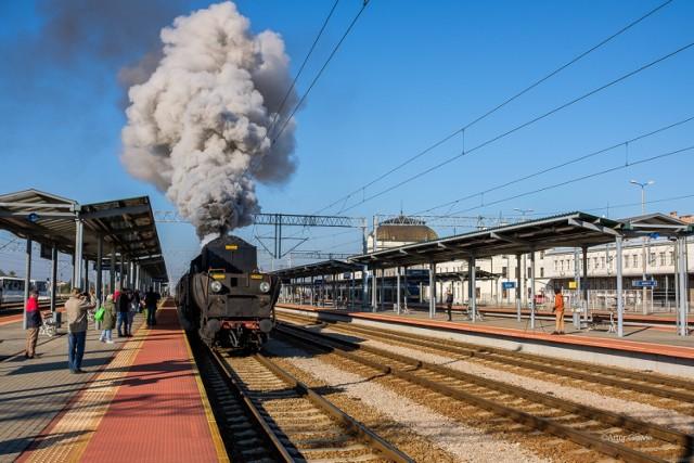Pociąg retro wyruszył z Tarnowa do Tuchowa przed godziną 10
