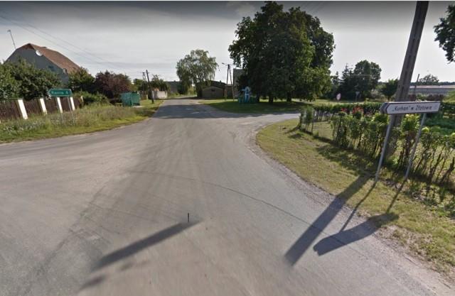 Mieszkańcy Złotowa (na fot.centrum wsi) mogą się cieszyć. Będzie remont drogi z Barcina w kierunku Złotnik Kujawskich. Szczegóły w tekście.