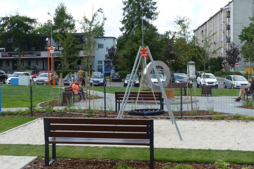 Skwer przy Piastowskiej w Radomsku oddany do użytku [ZDJĘCIA, FILM]