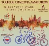 Tour de Cracovia Amatorów. Kolarze wracają na trasę wyścigu w Więcławicach