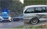 Zderzenie bmw z seatem na skrzyżowaniu Kruszyńska - Zbiegniewskiej we Włocławku [zdjęcia]
