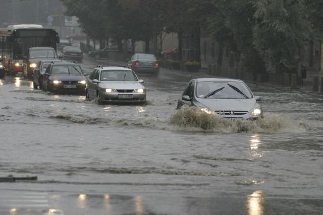 Na szczęście, w Gdańsku nie powtórzyła się - taka jak na archiwalnym już zdjęciu - sytuacja z 2007 roku.