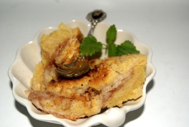 Jabłkowe crumble z kruszonką