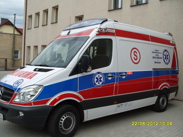Dwie osoby zostały ranne w zderzeniu trzech samochodów