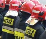 Pożar w szwalni przy ul. Kosynierów w Karsznicach