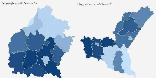Frekwencja na Podkarpaciu z godz. 9.00 - wybory 2011
