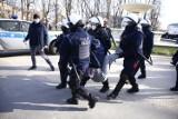 Protesty podczas obchodów rocznicy katastrofy smoleńskiej. Są zatrzymani