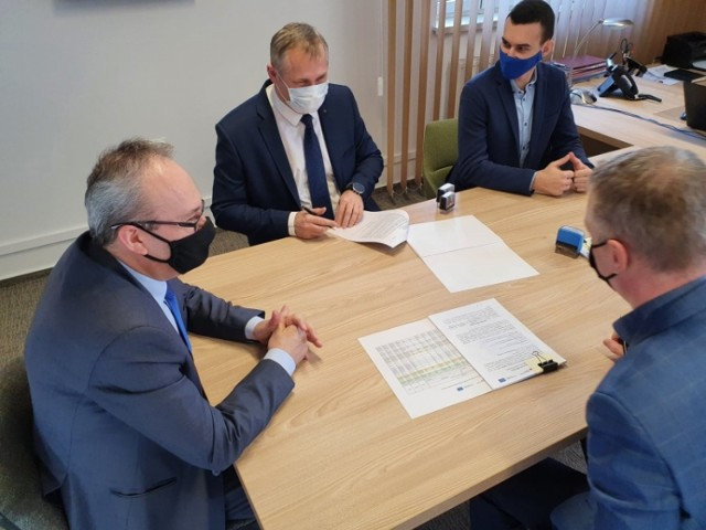 Podpisanie umowy na modernizację ciepłowni