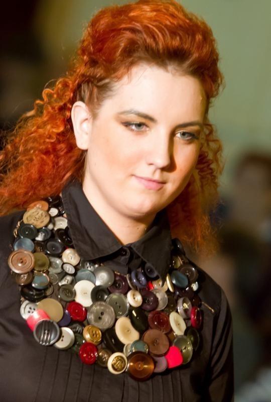 Oto przykład biżuterii autorstwa Estery Grabarczyk
