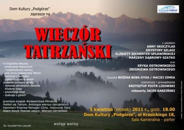Wieczór Tatrzański W Krakowie Nasze Miasto