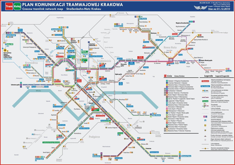 Mpk Krakow Zobacz Mape Komunikacyjna Miasta Krakow Nasze Miasto