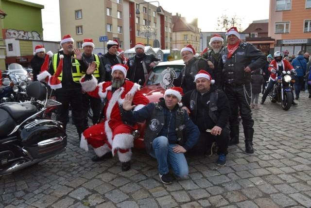 Mikołaje na dwóch kółkach zawitały do Lubina