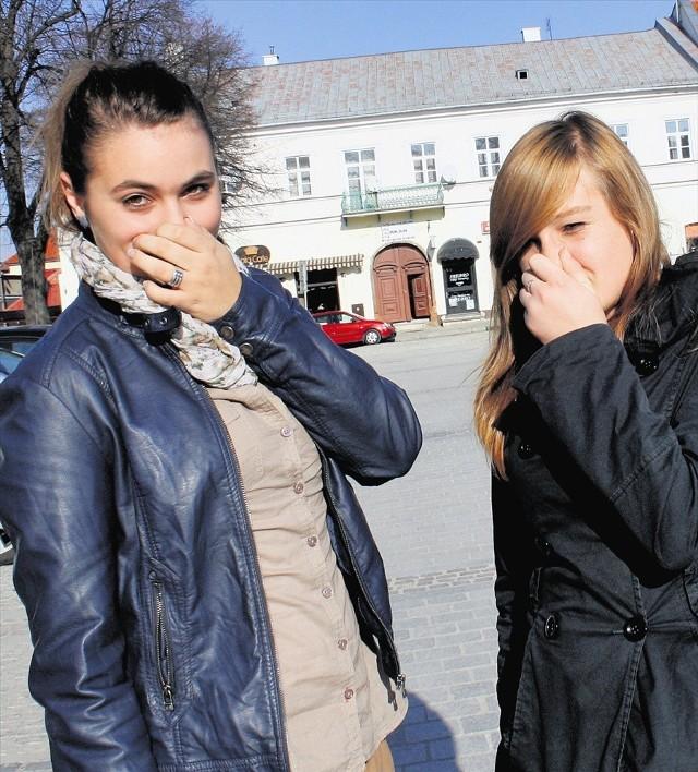 Kornelia Zając i Roksana Świerczek narzekają na powietrze