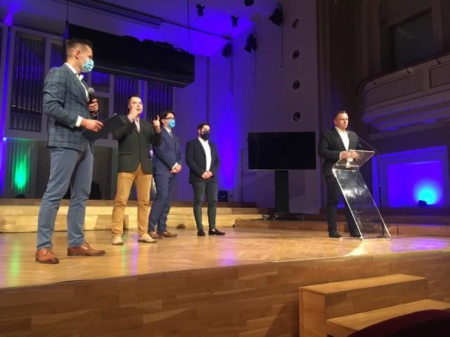 Konferencja poświęcona konkursowi dla startupów odbyła się w Filharmonii Śląskiej w Katowicach