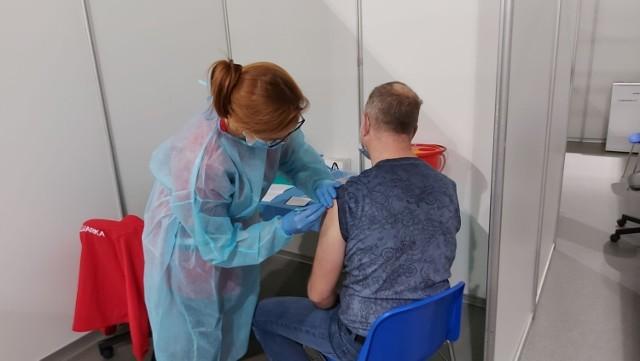 Pierwsi mieszkańcy szczepili się jeszcze w styczniu bieżącego roku.