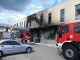 Pożar w galerii handlowej [ZDJĘCIA]
