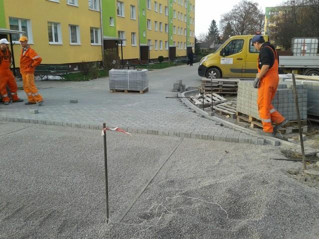 Trwa lifting trzech lubartowskich osiedli.