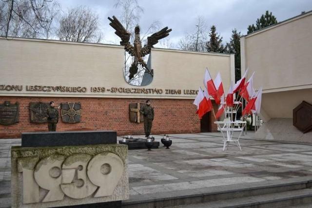 68. rocznica wyzwolenia Leszna spod okupacji hitlerowskiej.