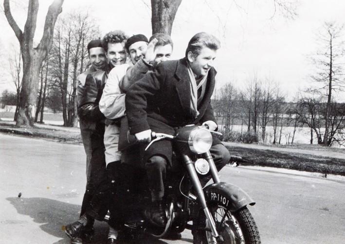 Zdjęcie z rodzinnego albumu Jerzego Gawrona