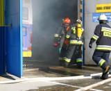 Tarnów. Kolejny miejski autobus stanął w płomieniach. Podróżowało nim osiem osób