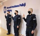 Pięciu nowych funkcjonariuszy zasiliło szeregi oleśnickiej policji