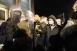 Protestu kobiet w Katowicach - w niedzielę gaz, w poniedziałek podziękowania dla policjantów!