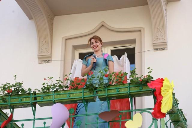 Balkonowy koncert operowy w Legnicy.