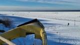 Zamarznięte Morze Bałtyckie, czyli lodowa pustynia aż po horyzont. Takiego oblodzenia nie widzieliśmy od 10 lat!