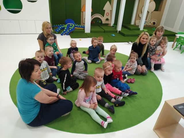 Dzieci w żłobku w Wągrowcu uczą się języka obcego