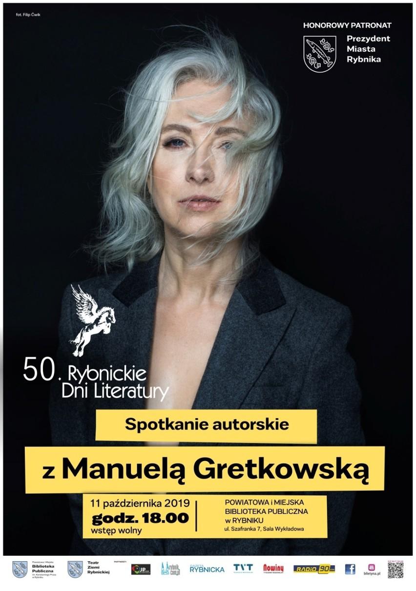 50 Rybnickie Dni Literatury: Gretkowska, Davies i Szczygieł wkrótce w bibliotece