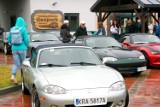 Zlot miłośników Mazdy MX-5 w Geoparku. Do parku zawitała kolumna 30 samochodów [ZDJĘCIA]