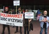 Byli pracownicy Polomarketu protestują: sieć łamie prawa