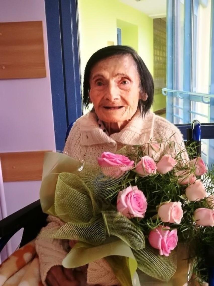 Pani Honorata przeżyła 109 lat. W ubiegłym roku podczas...