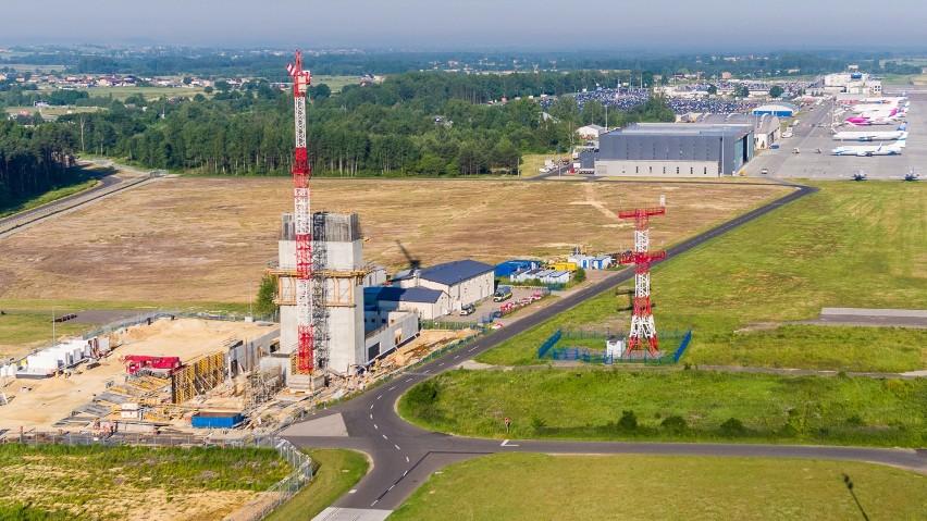Nowa wieża kontroli lotów w Pyrzowicach będzie najwyższa w...
